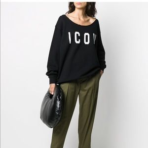 NWT authentic DSQUARED2 ICON sweater